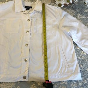 Jones New York Jackets & Coats - Jones NY white denim jacket